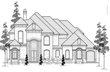 Main image for house plan # 19059
