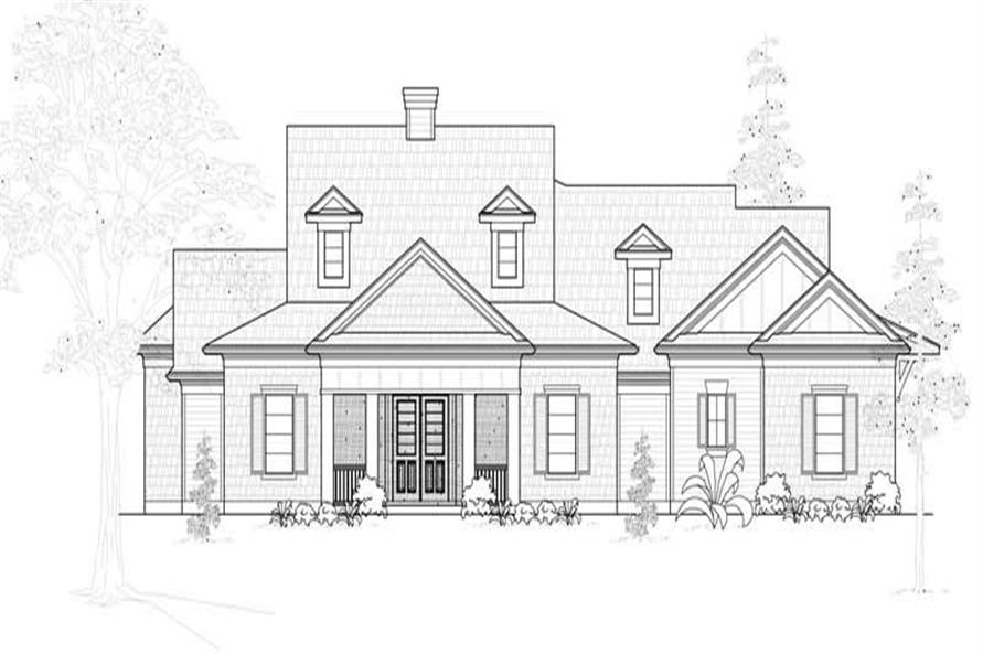 Main image for house plan # 18995