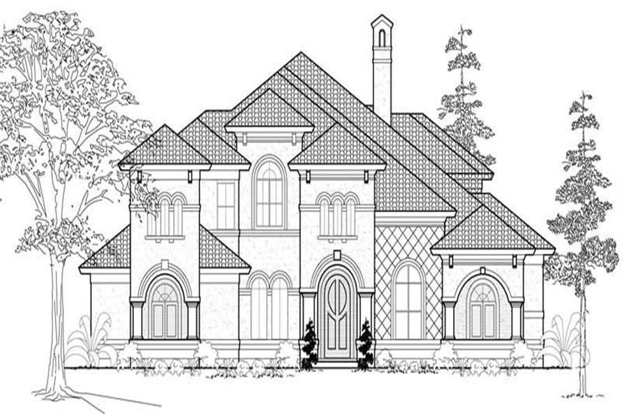 Main image for house plan # 19153