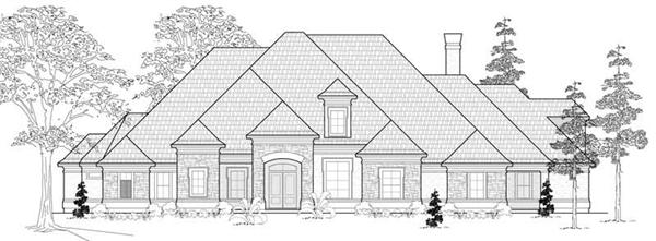 Main image for house plan # 19281