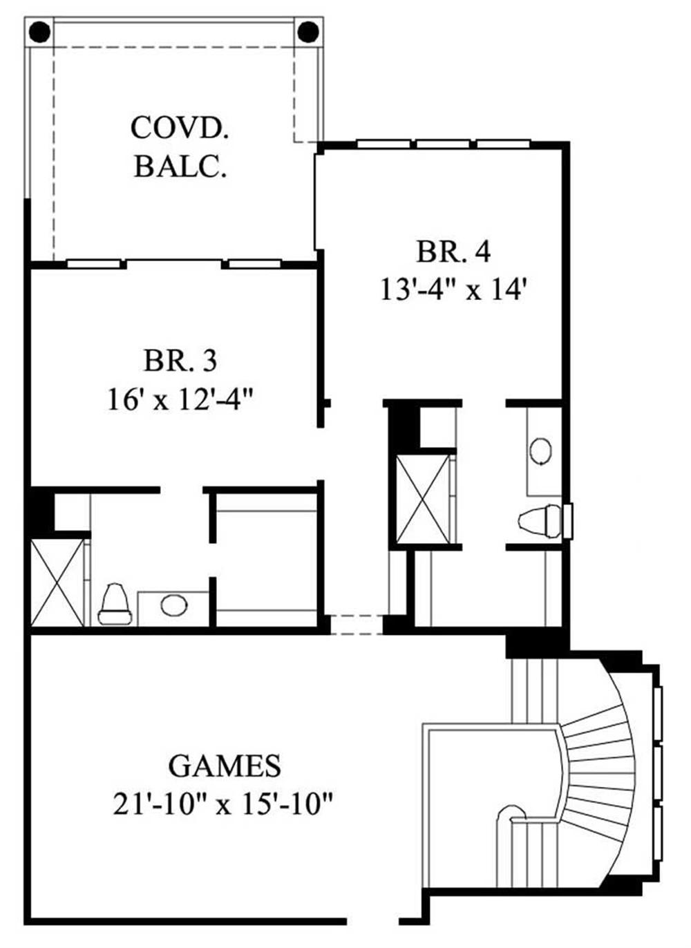 Large Images For House Plan 134 1064