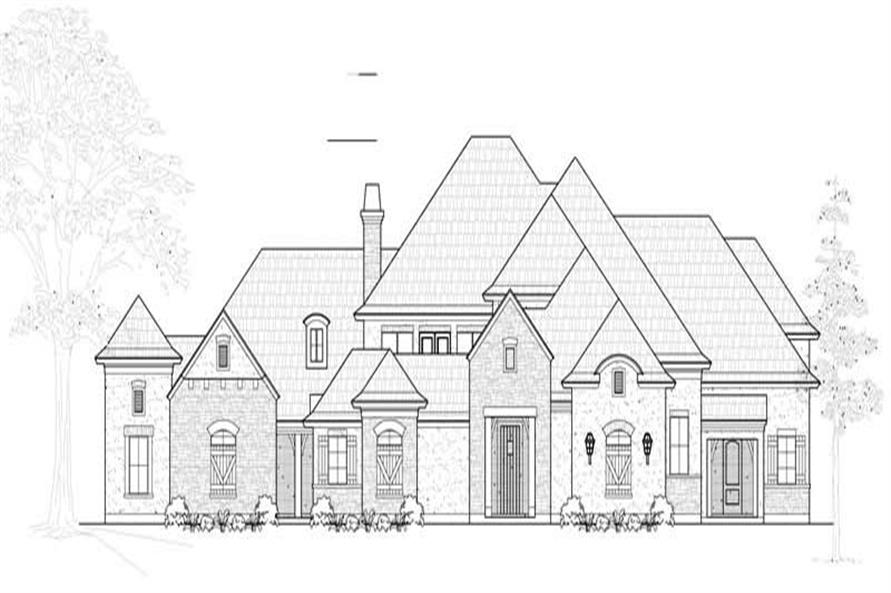 Main image for house plan # 19269
