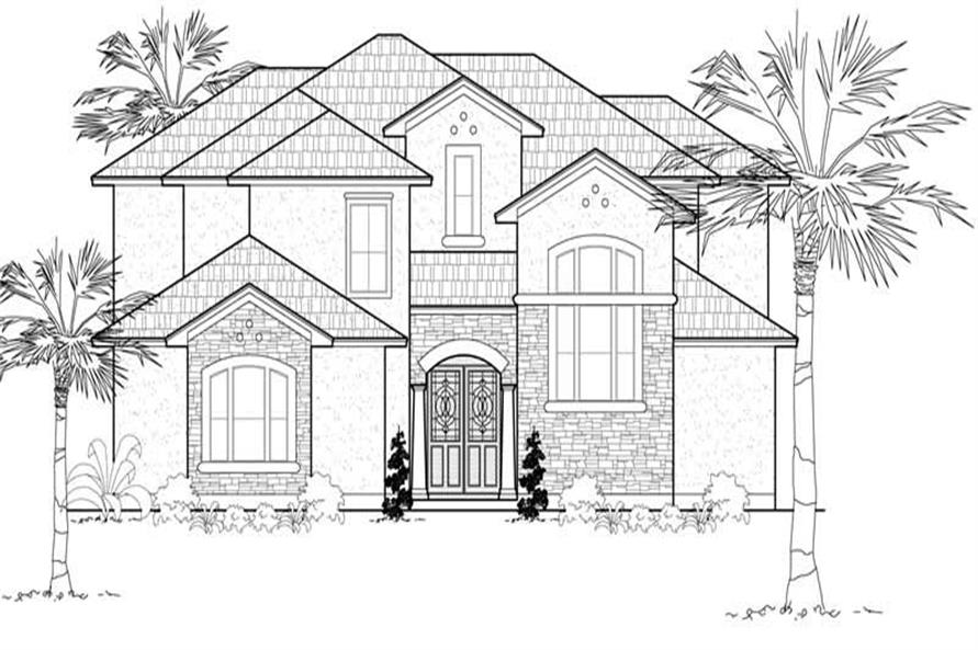 Main image for house plan # 19156