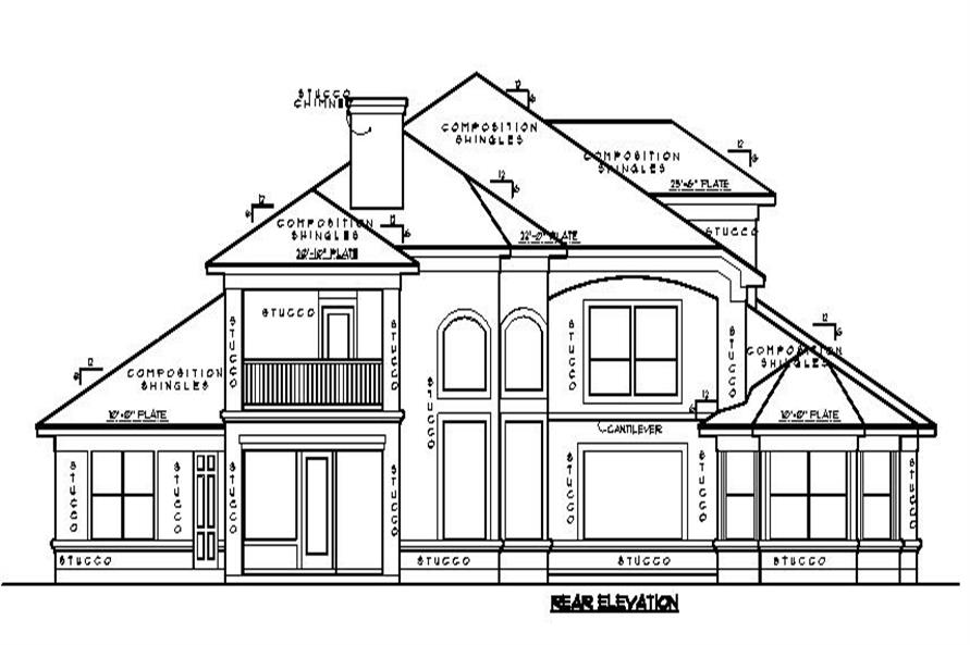 Mediterranean Spanish House Plans