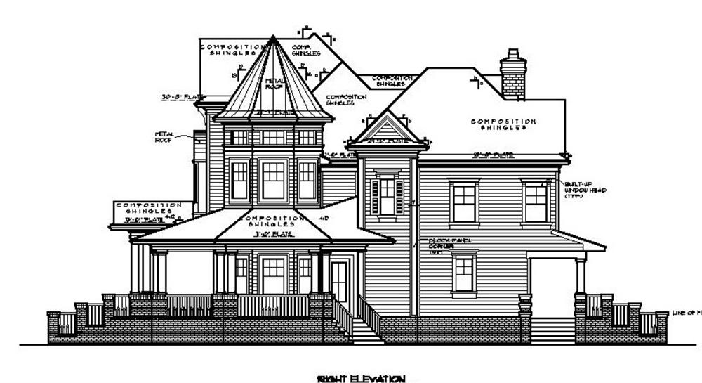 134-1071 right elevation