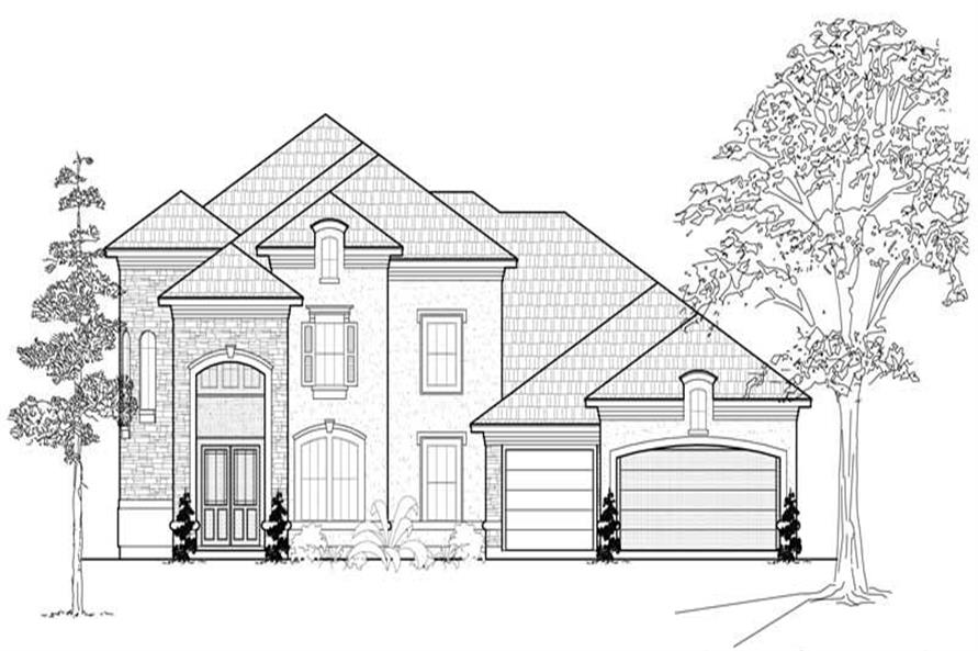 Main image for house plan # 19254