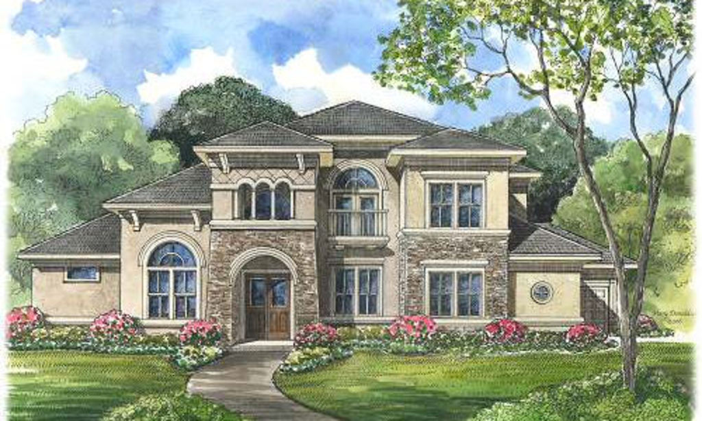 Mediterranean house plan 134 1087 5 bedrm 4486 sq ft for 5 bedroom luxury house plans