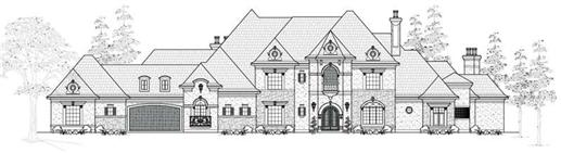 Main image for house plan # 19274