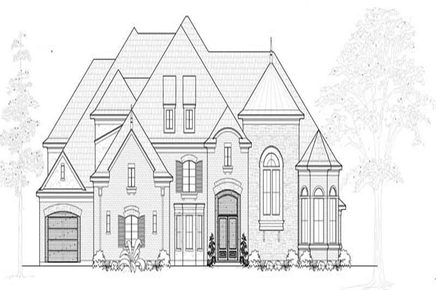Main image for house plan # 19054