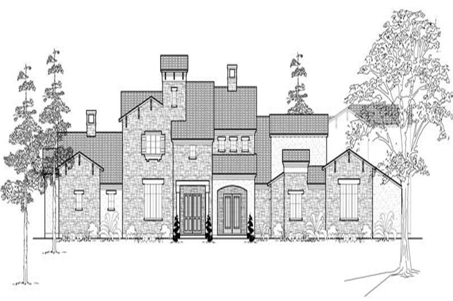 Main image for house plan # 19049