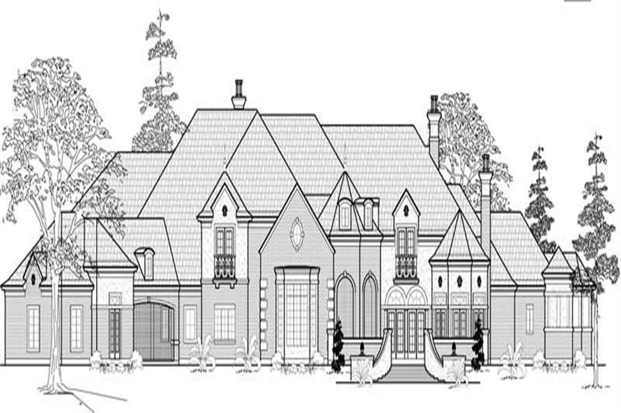 Main image for house plan # 19043