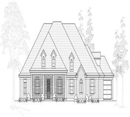 House Plan #134-1107