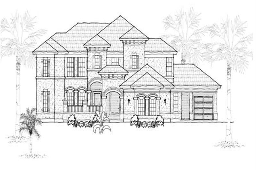 Main image for house plan # 19173