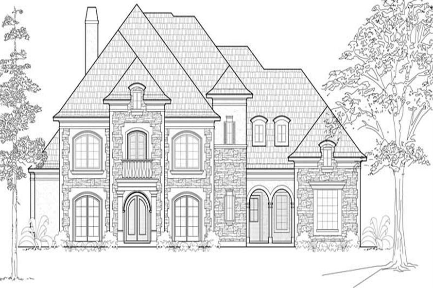 Main image for house plan # 19161