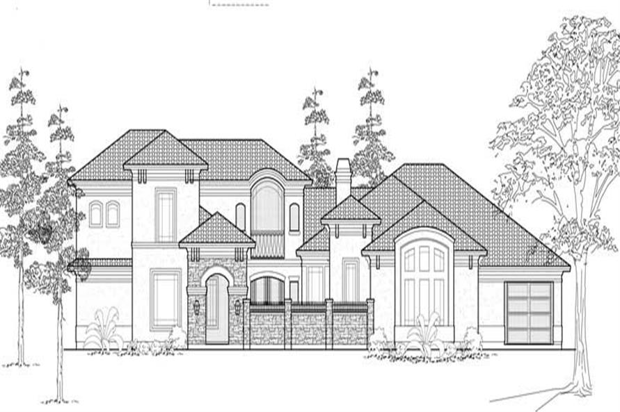 Main image for house plan # 19154