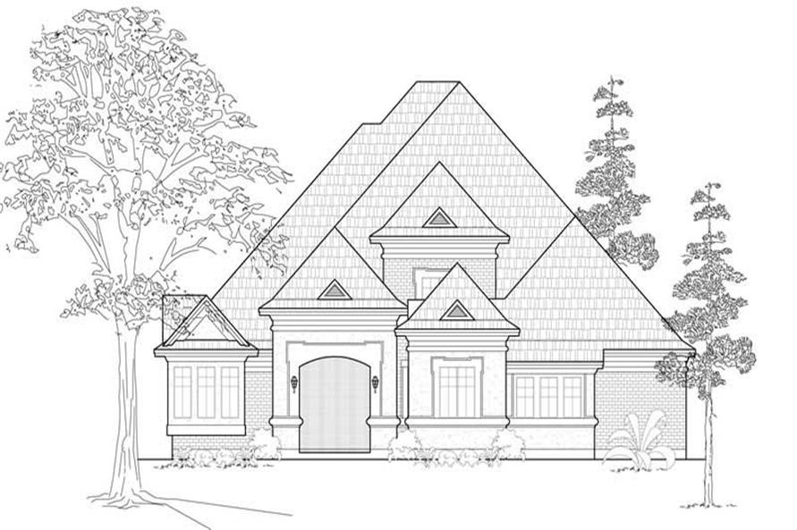Main image for house plan # 18990