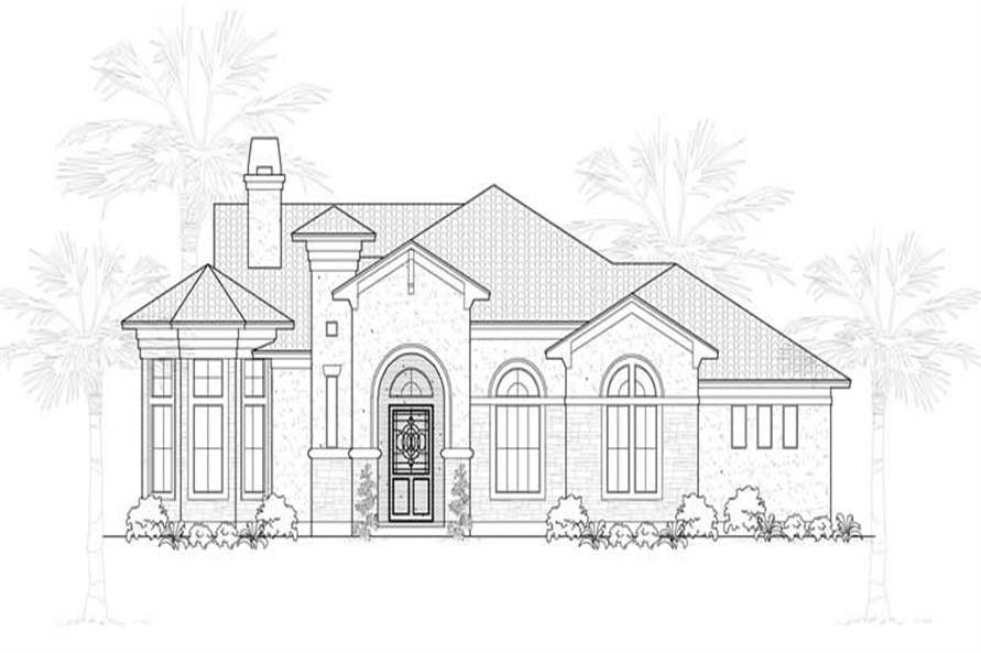 Main image for house plan # 18988