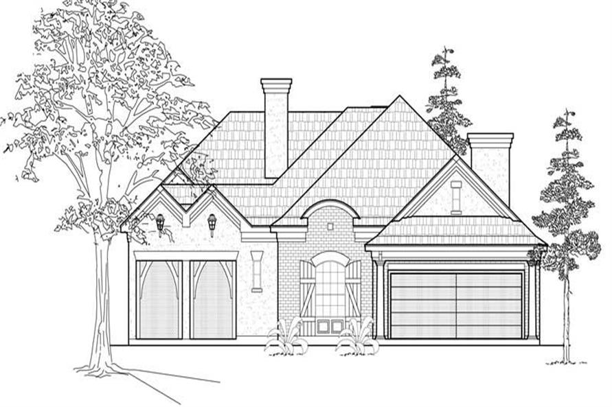 Main image for house plan # 18987