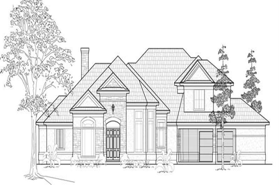 Main image for house plan # 19120
