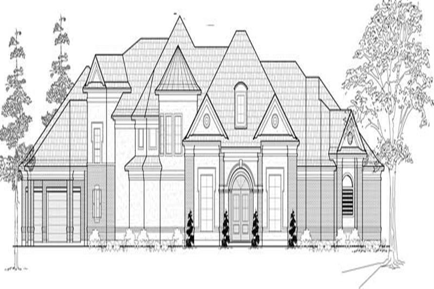 Main image for house plan # 19168