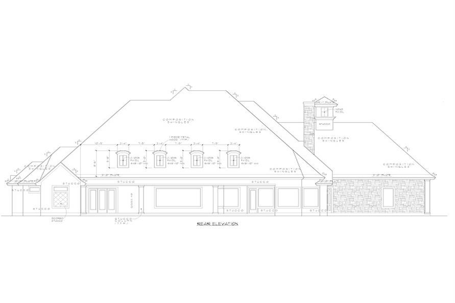 rear elevation of 134-1139