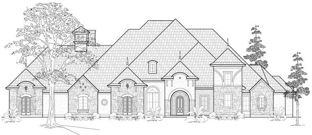 Main image for house plan # 19164