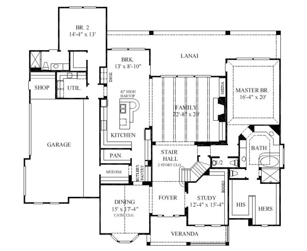 European house plans luxury home plans - Country house floor plans ...