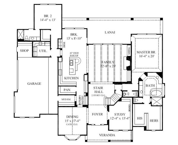 European house plans luxury home plans for Luxury european home plans