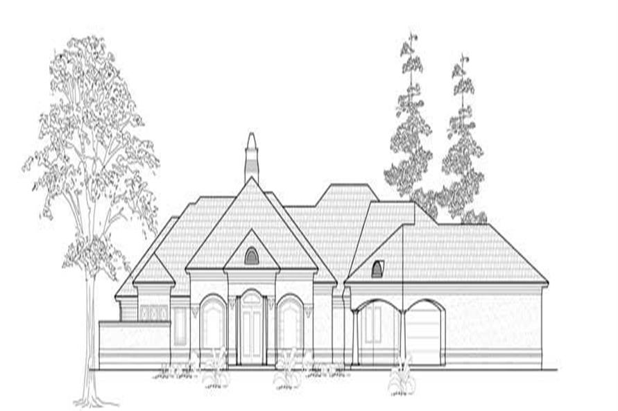 Main image for house plan # 8554