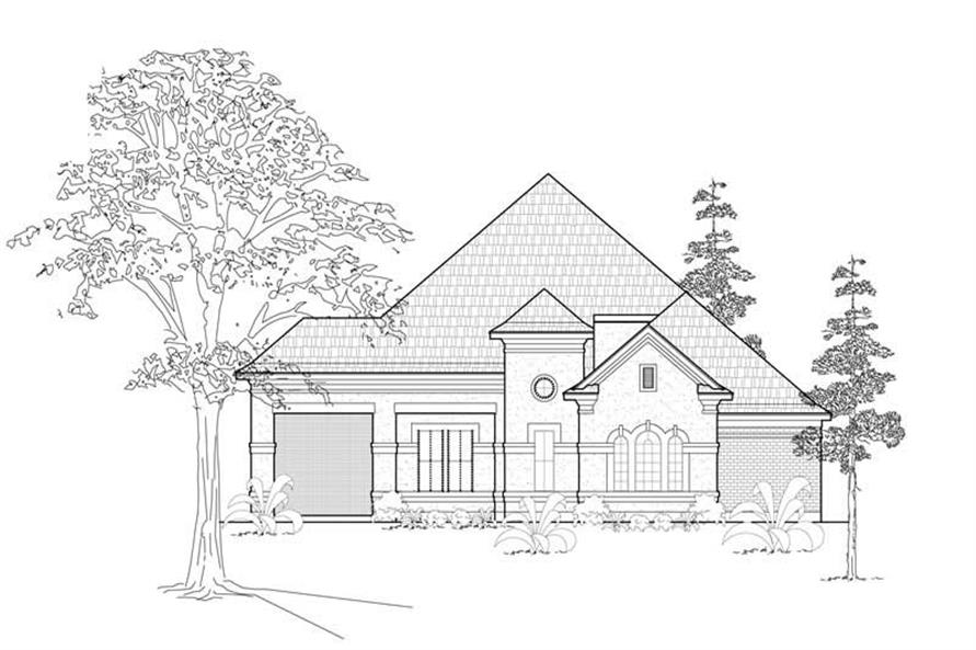 Main image for house plan # 8487