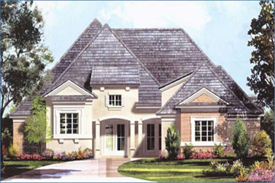 Main image for house plan # 8495