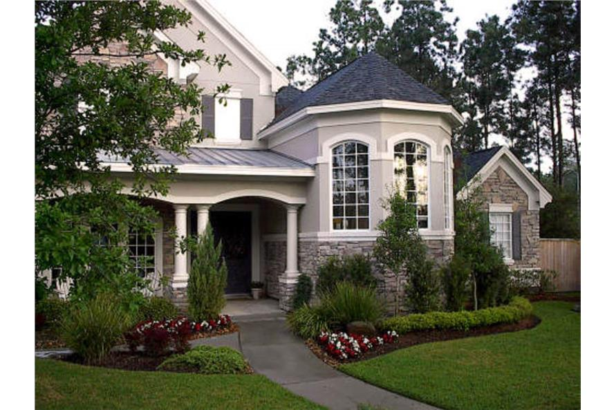 Home Exterior Photograph of this 4-Bedroom,4485 Sq Ft Plan -4485
