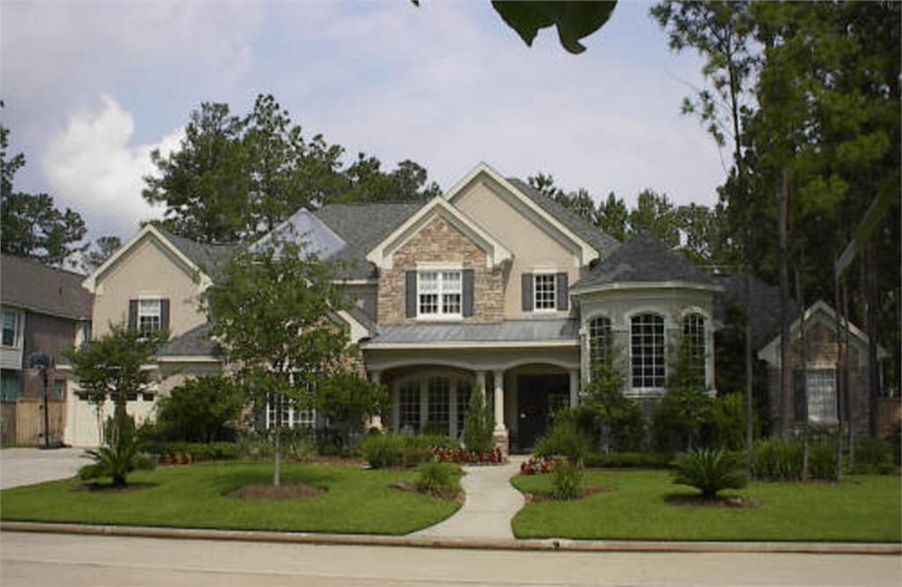 Beautiful image of house plan # 134-1183