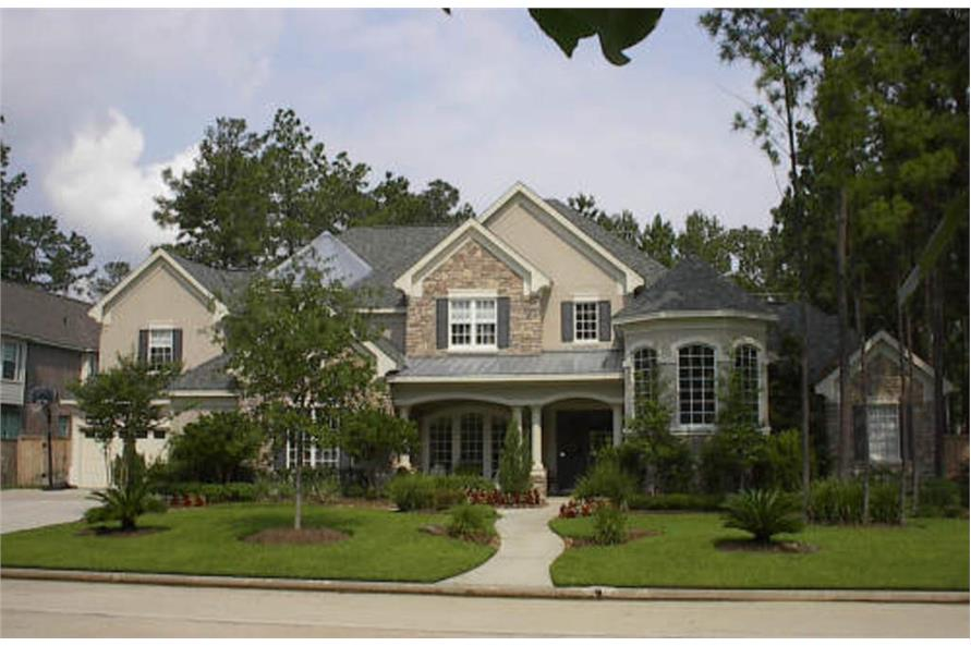 Beautiful image of house plan # 134-1183