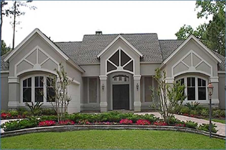 4-Bedroom, 3997 Sq Ft Craftsman House Plan - 134-1190 - Front Exterior
