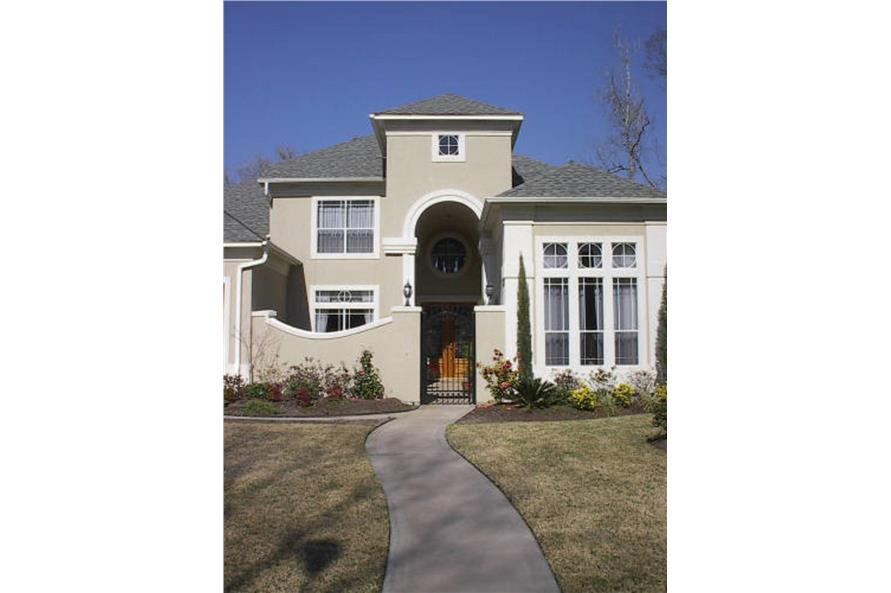 Front Door of this 4-Bedroom,4056 Sq Ft Plan -4056