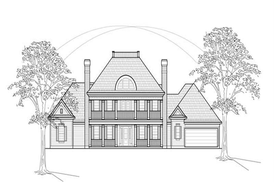 Main image for house plan # 8629