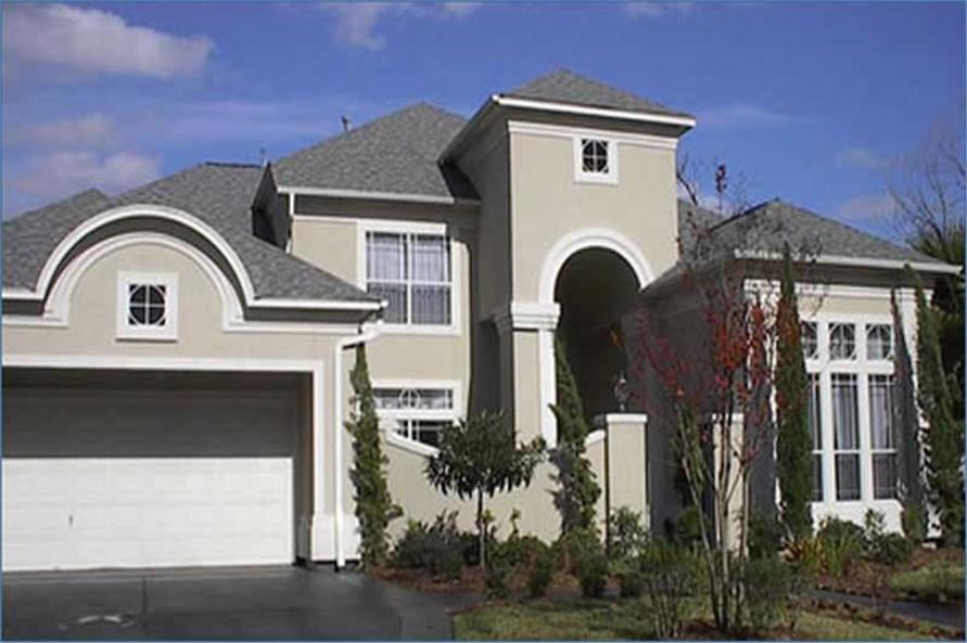 Home Exterior Photograph of this 4-Bedroom,4083 Sq Ft Plan -134-1205