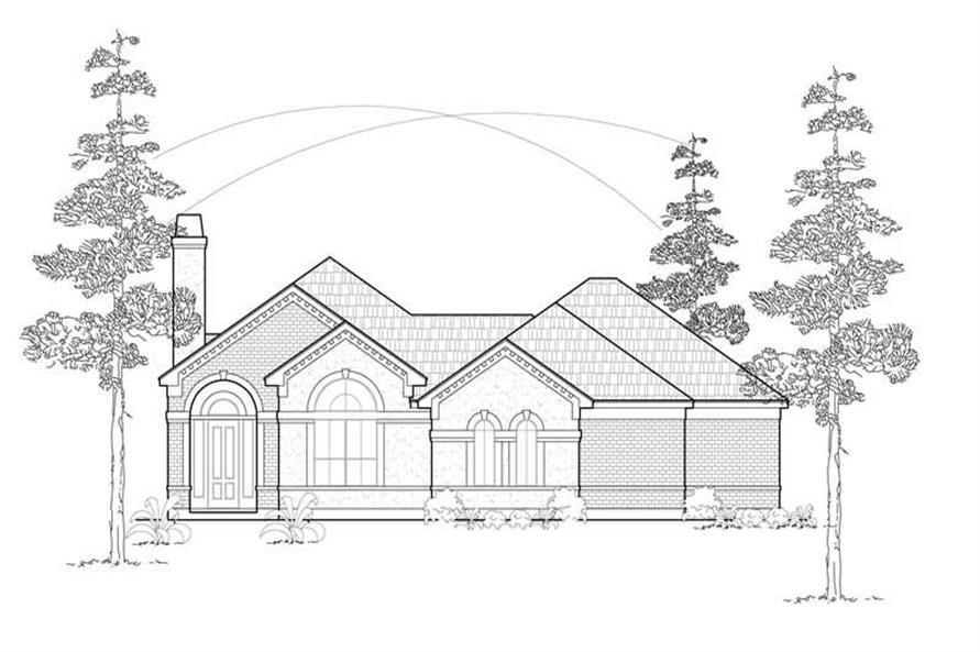 Main image for house plan # 8465