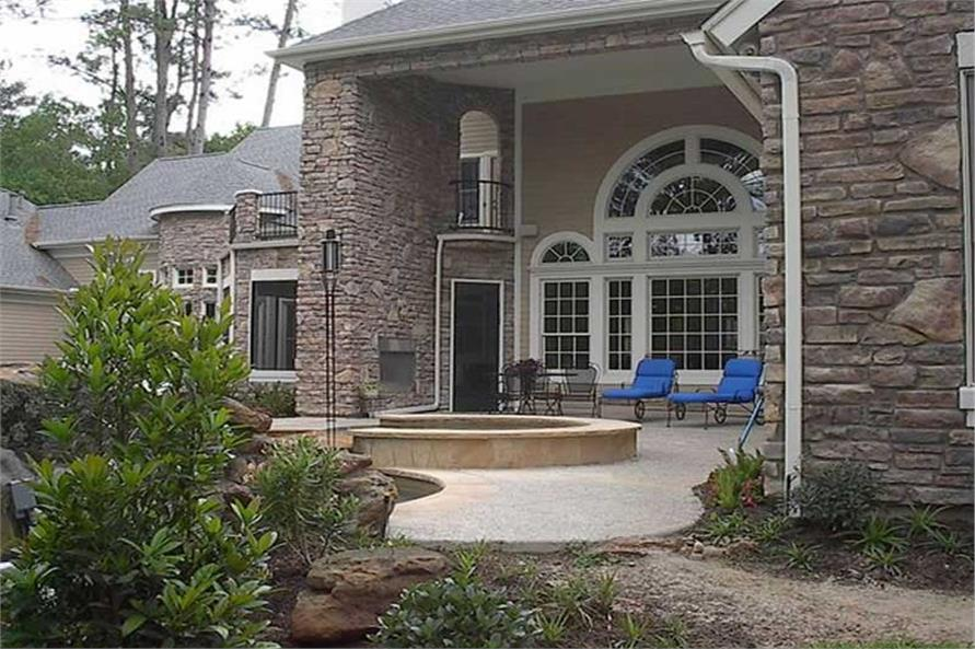 Home Exterior Photograph of this 5-Bedroom,5204 Sq Ft Plan -134-1218
