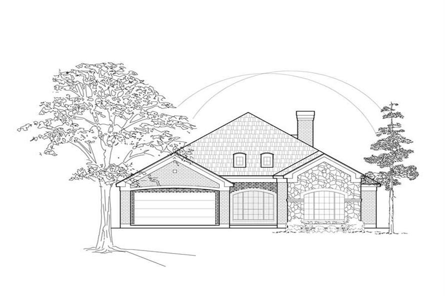 Main image for house plan # 8425
