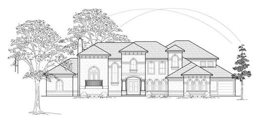 Main image for house plan # 8747