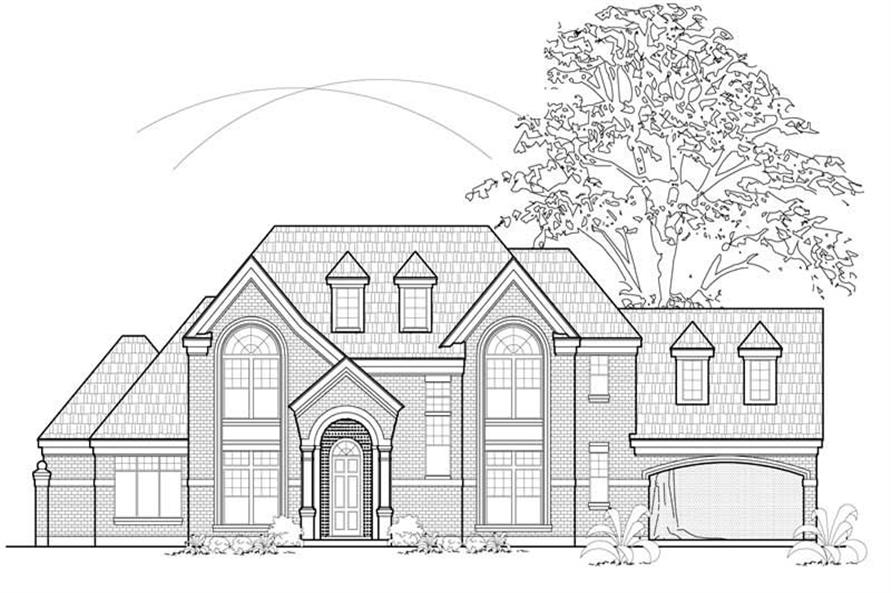 Main image for house plan # 8536