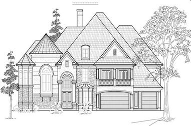 Main image for house plan # 8756