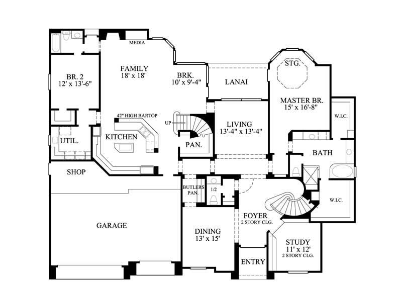 Luxury traditional house plans home design gmld 527 8689 for 527 plan