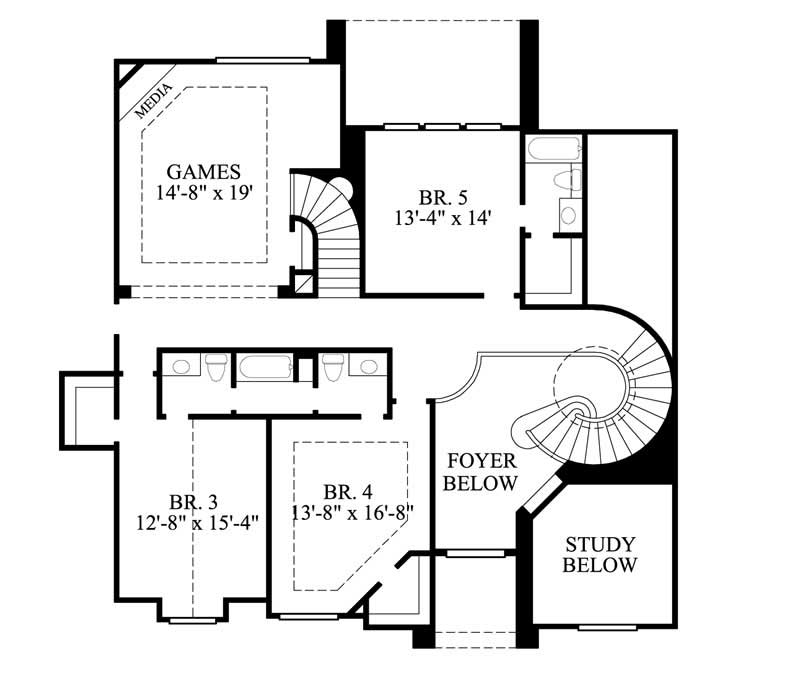 Luxury Traditional House Plans Home Design Gmld 527 8689