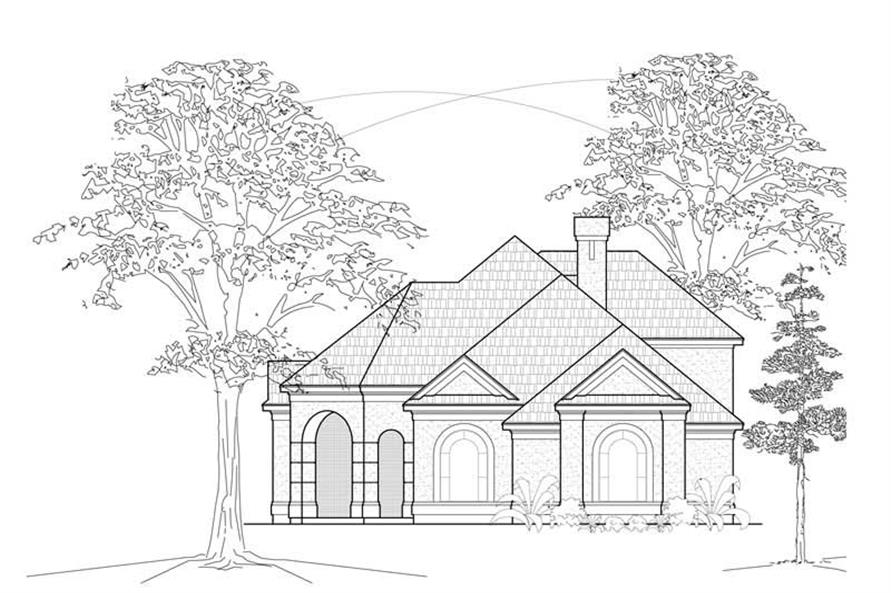 Main image for house plan # 8456