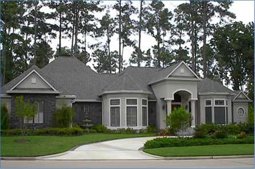 Main image for house plan # 8489