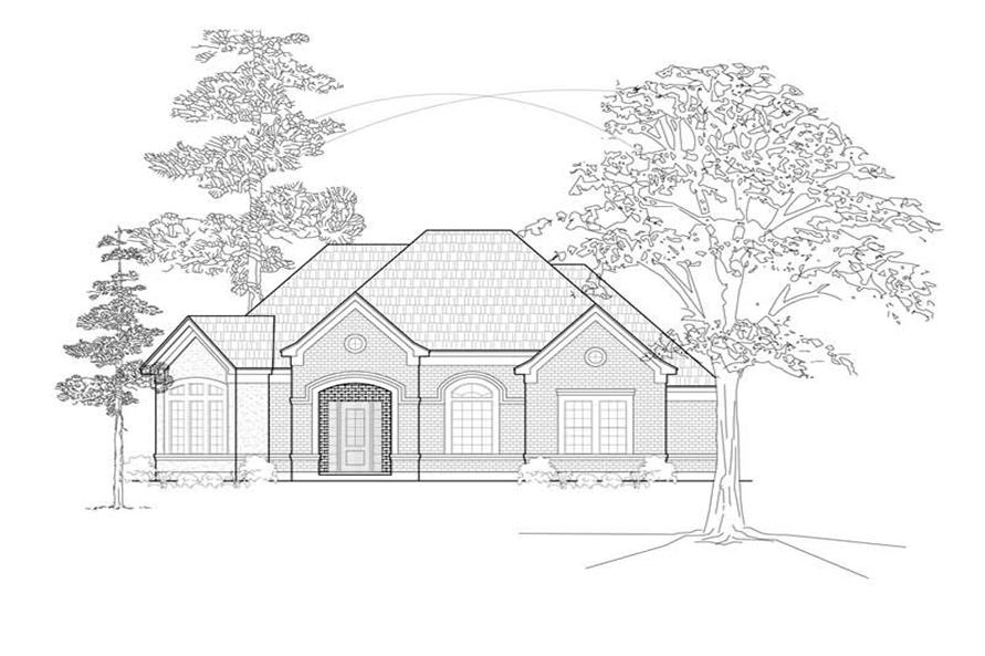 Main image for house plan # 8466