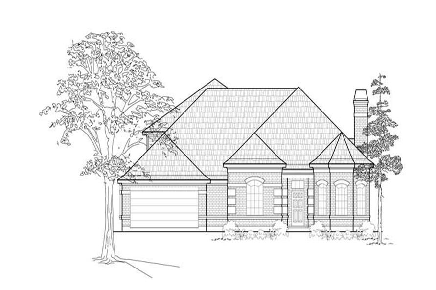 Main image for house plan # 8455